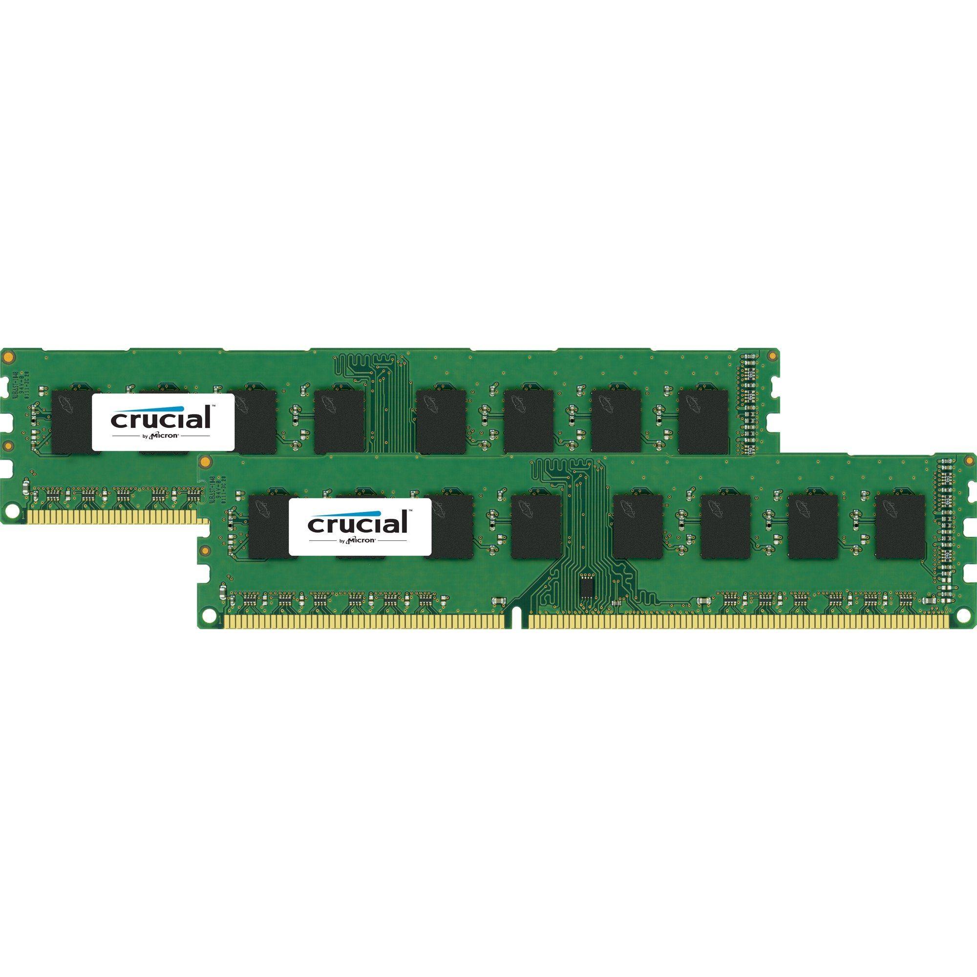 Crucial Arbeitsspeicher »DIMM 8 GB DDR3L-1600 Kit«
