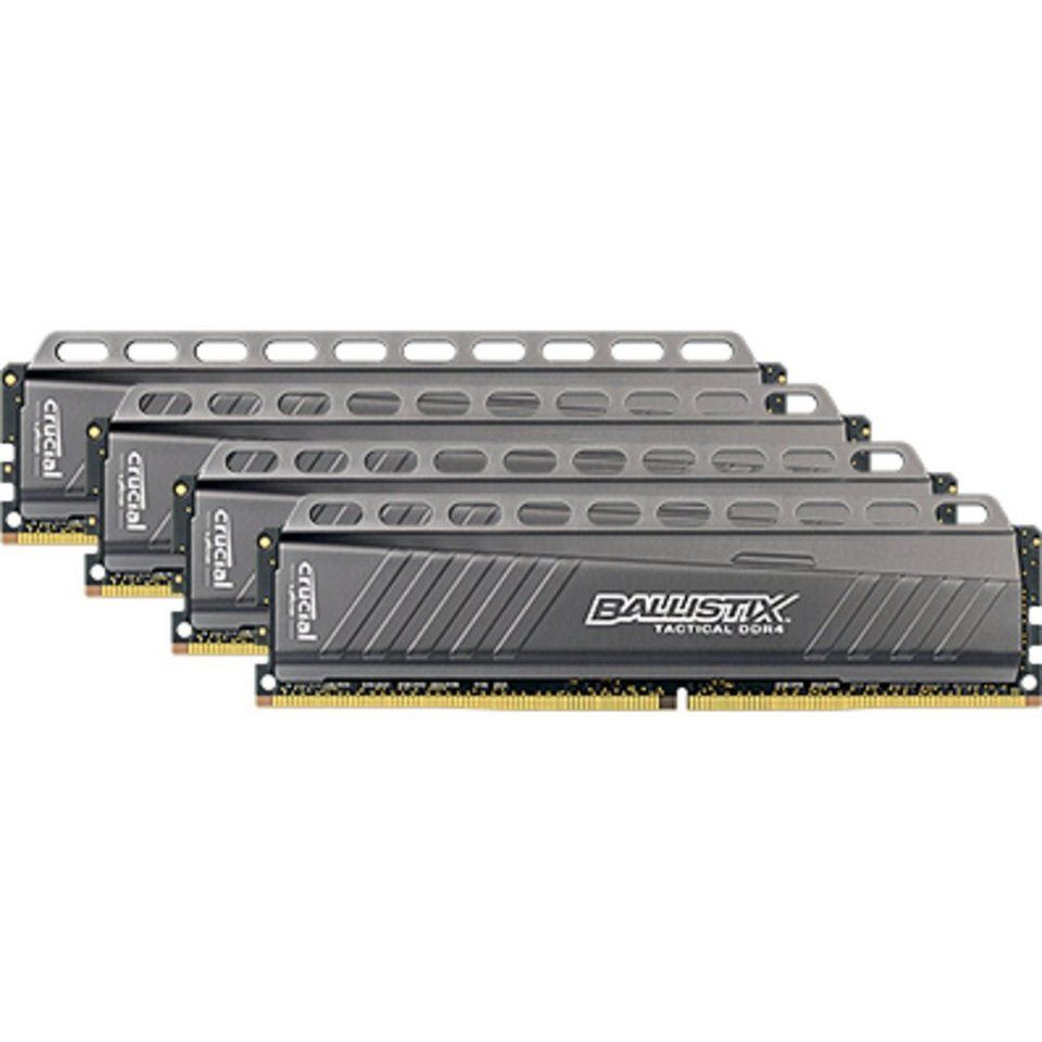 Crucial Arbeitsspeicher »DIMM 16 GB DDR4-3000 Quad-Kit«