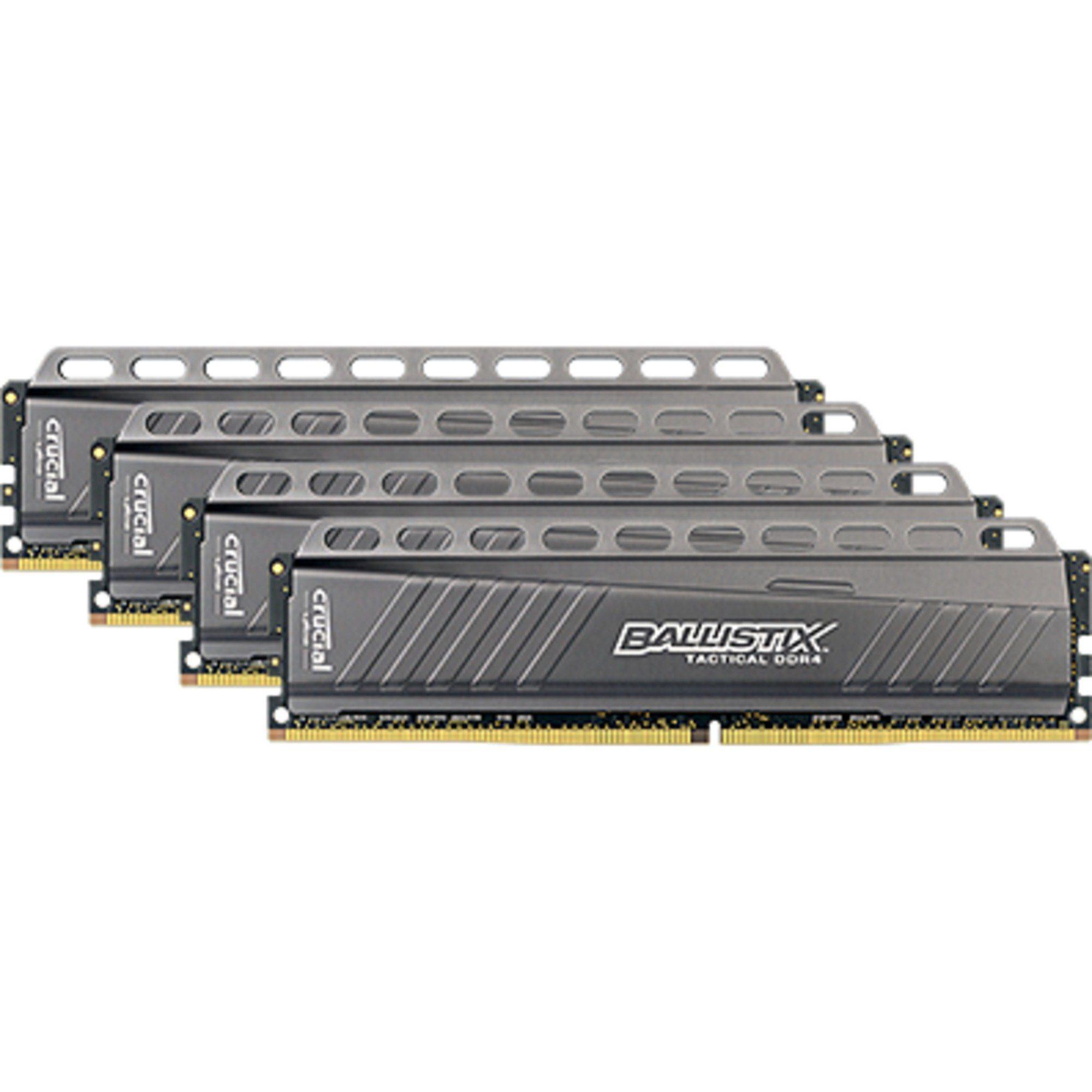 Ballistix Arbeitsspeicher »DIMM 16 GB DDR4-3000 Quad-Kit«