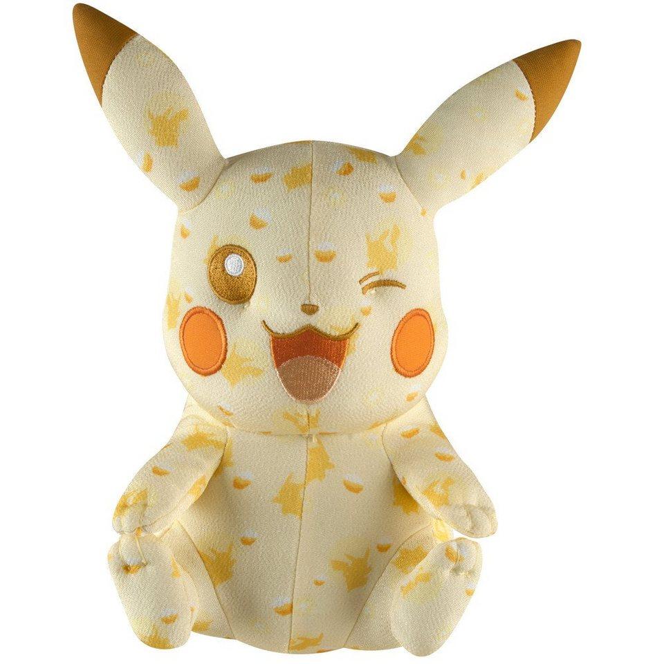 Tomy Fanartikel »Pokemon Pikachu Plüsch (zwinkert) (ca 20 cm)«