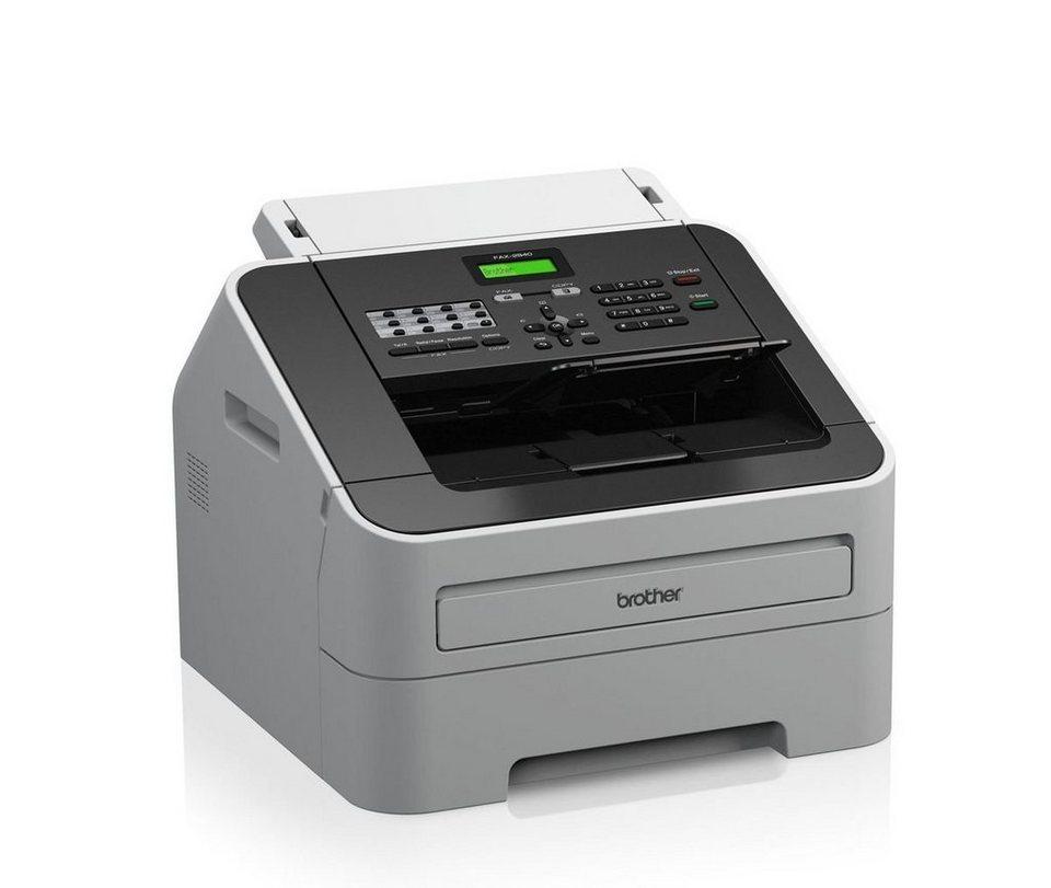 Brother Faxgerät »FAX-2940 Laserfax« in Grau-Schwarz