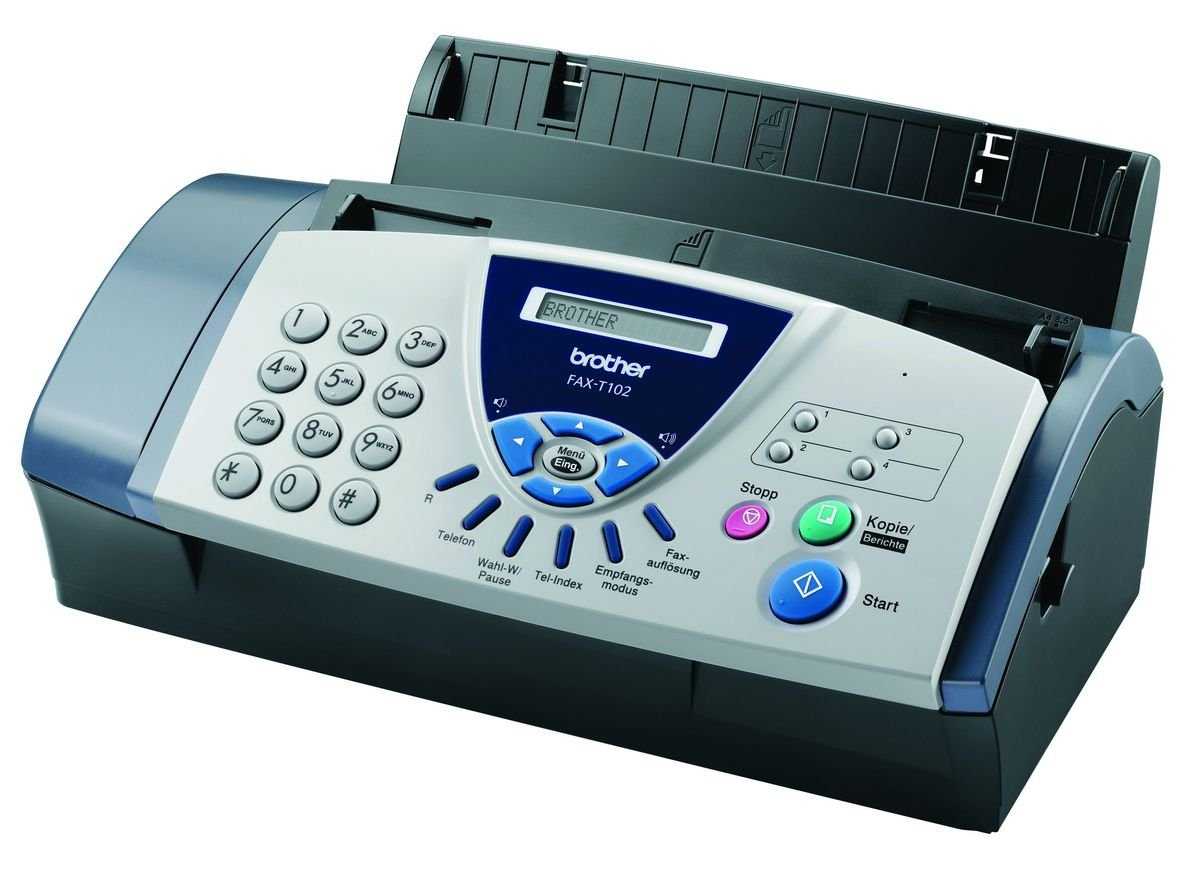 Brother Faxgerät »FAX-T102 Thermotransferfax«