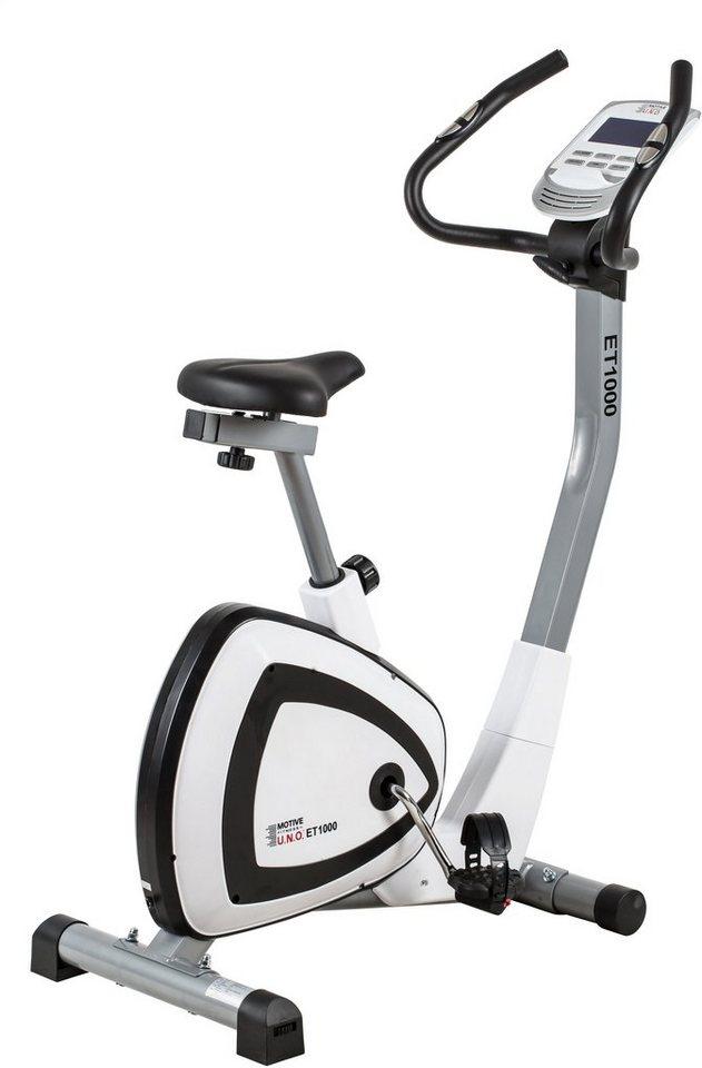 MOTIVE by U.N.O. Fitness Ergometer, »ET 1000« in weiß-schwarz
