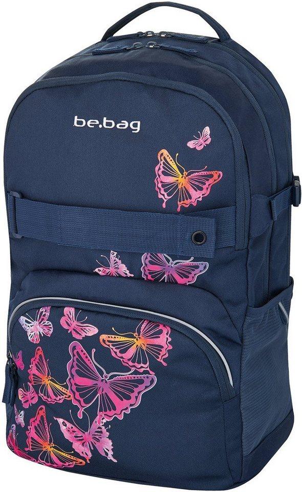 Herlitz Schulrucksack, »be.bag cube, Butterfly«