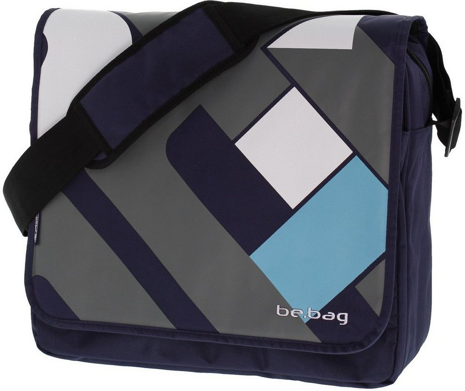 Herlitz Umhängetasche mit Laptopfach, »be.bag Messenger Bag, Crossing«