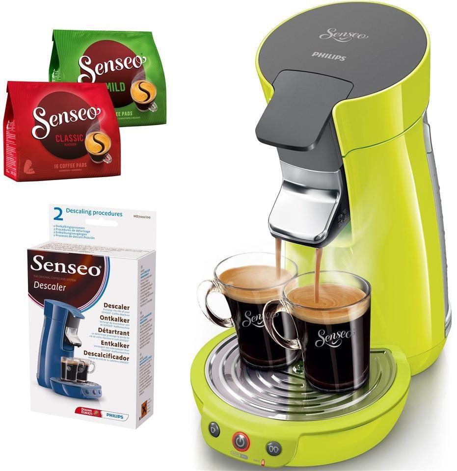 SENSEO® Kaffeepadmaschine HD7825 Viva Café, inkl Gratis-Zugaben im Wert von 14 € in Grün