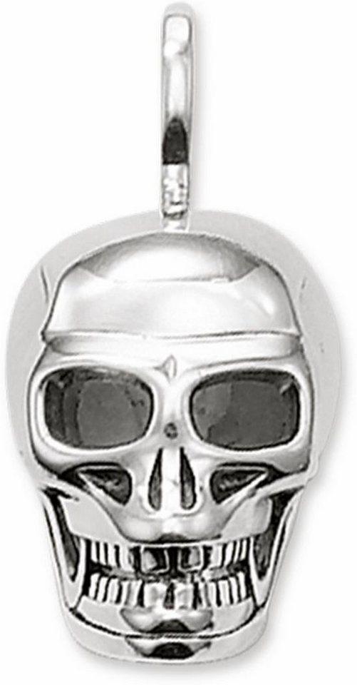 Thomas Sabo Kettenanhänger »Totenkopf, PE479-001-12« in Silber 925