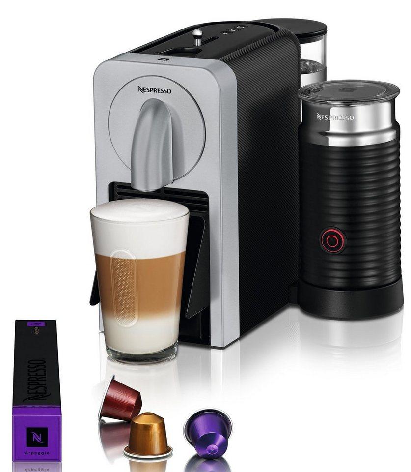 nespresso kapselmaschine nespresso prodigio milk en 270. Black Bedroom Furniture Sets. Home Design Ideas