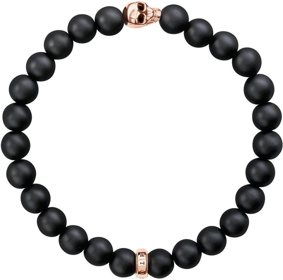 thomas sabo armband totenkopf a1510 444 11 mit obsidian online kaufen otto. Black Bedroom Furniture Sets. Home Design Ideas