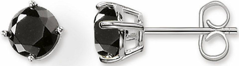 Thomas Sabo Paar Ohrstecker »H1838-024-11« mit Onyx in Silber 925-schwarz