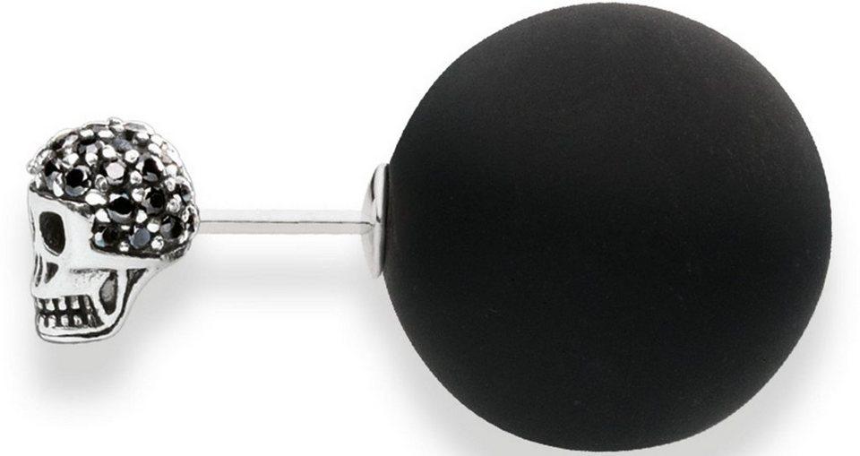 Thomas Sabo Paar Ohrstecker »Paar Ohrstecker, H1917-705-11« Doubleface in Silber 925-schwarz