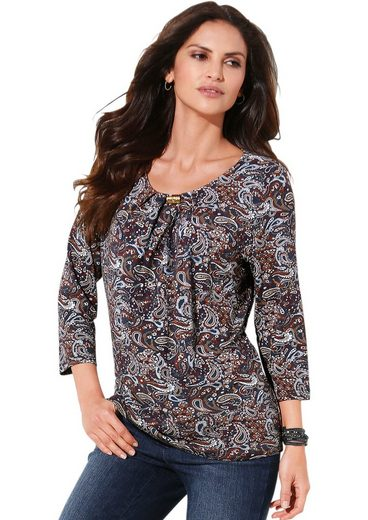 Classic Inspirationen Shirt in bezauberndem Paisley-Dessin