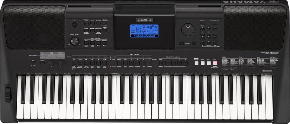 yamaha digital keyboard psr e453 online kaufen otto. Black Bedroom Furniture Sets. Home Design Ideas
