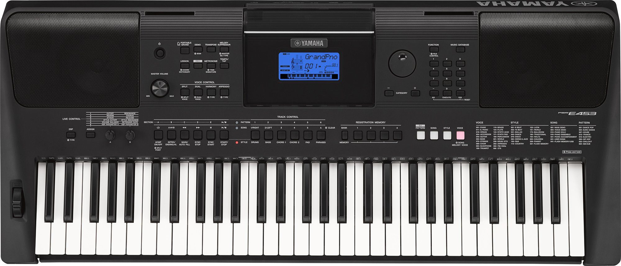 Yamaha Digital Keyboard, »PSR-E453«