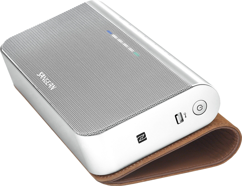 Sangean Bluetooth-Lautsprecher in eleganter Lederhülle »BTS-102 (BluPad)«