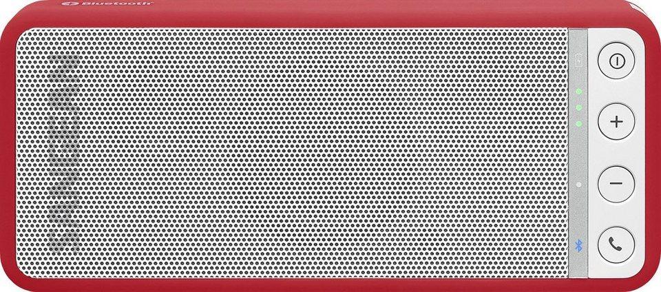 Sangean tragbarer Bluetooth-Lautsprecher »BTS-101 (BluTab)« in Rot