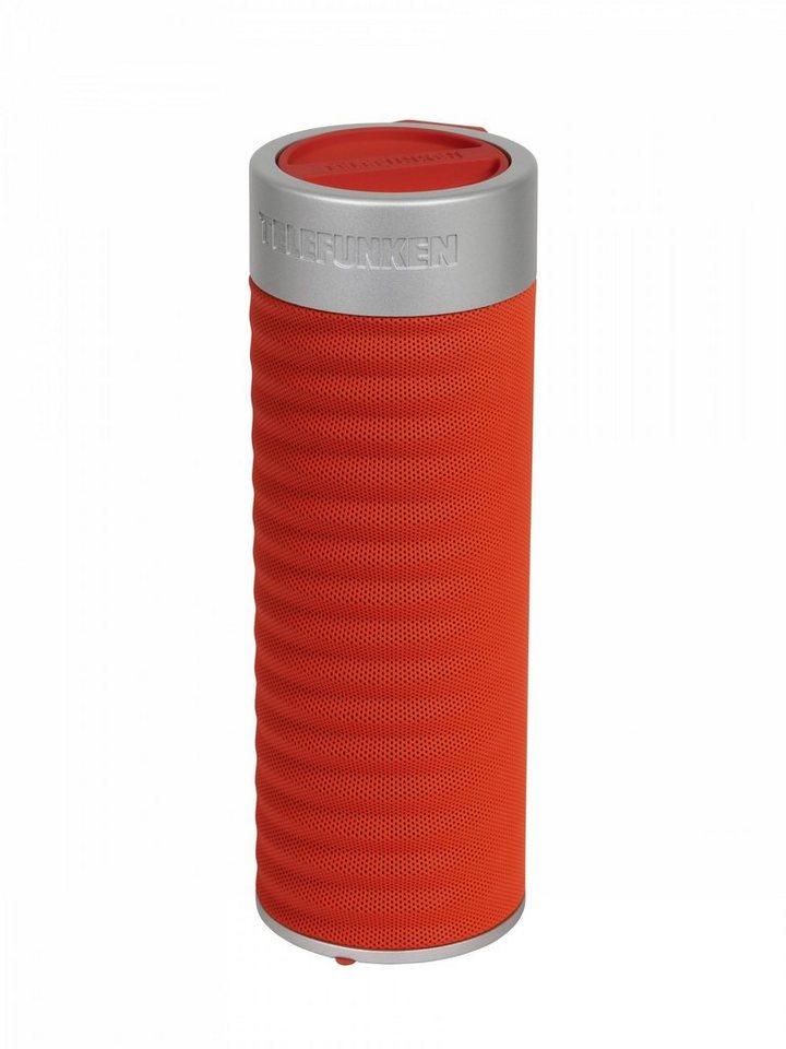 Telefunken Bluetooth-Lautsprecher »BS1003 rot« in Rot
