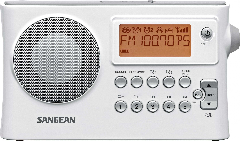Sangean tragbares Radio (UKW/MW, Dual-Alarm, MP3, USB, AUX-In) »PR-D14«