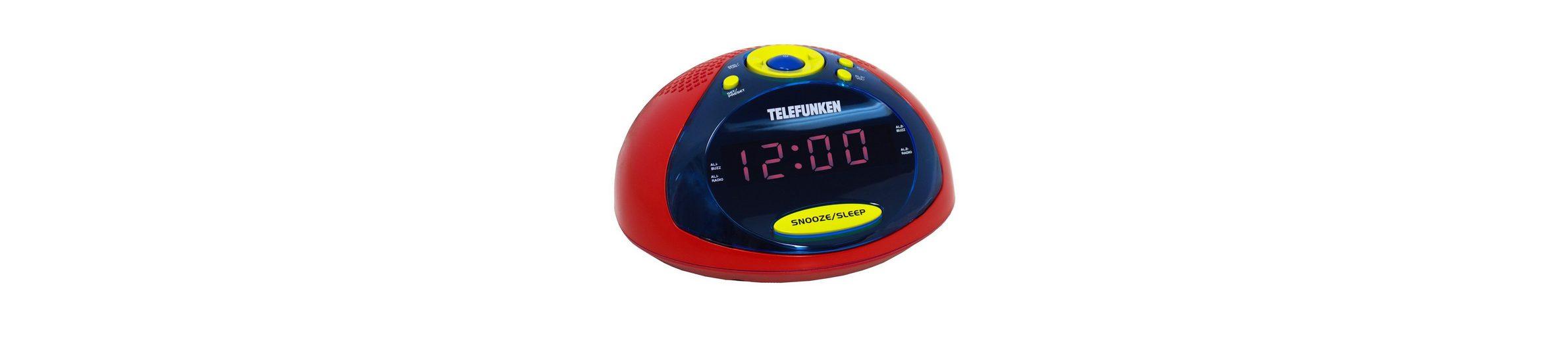 Telefunken Radiowecker »R1005 rot/gelb/blau«