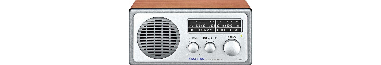 Sangean Desktop-Radio im eleganten Holzgehäuse »WR-1«