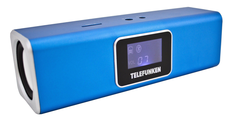 Telefunken Bluetooth-Lautsprecher »BS1005M blau«