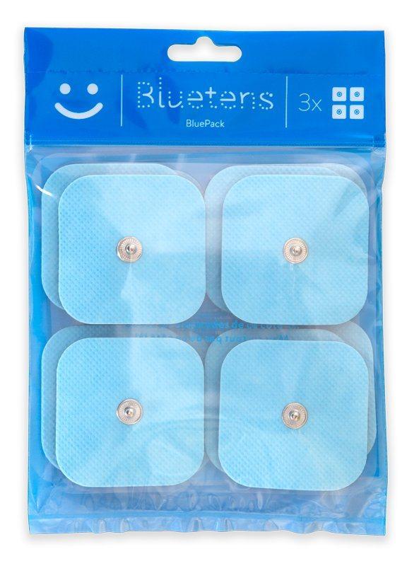 Bluetens Ersatzpads, »S 12 Bluepack« in weiß-blau