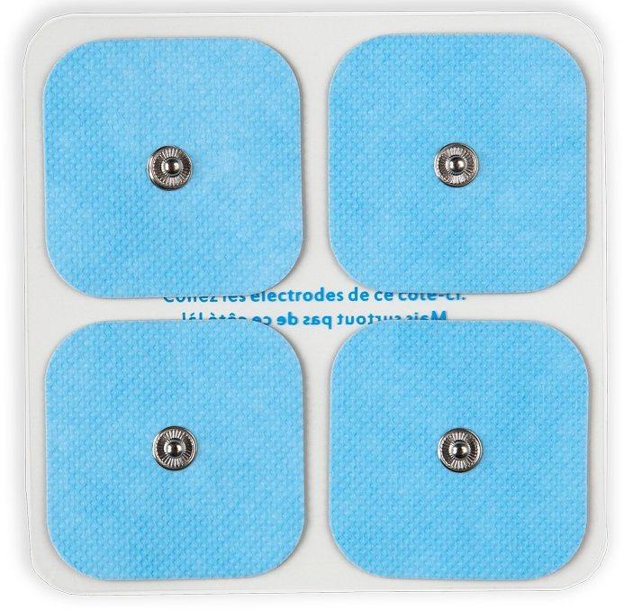 Bluetens Ersatzpads, »S 4 Bluepack« in weiß-blau