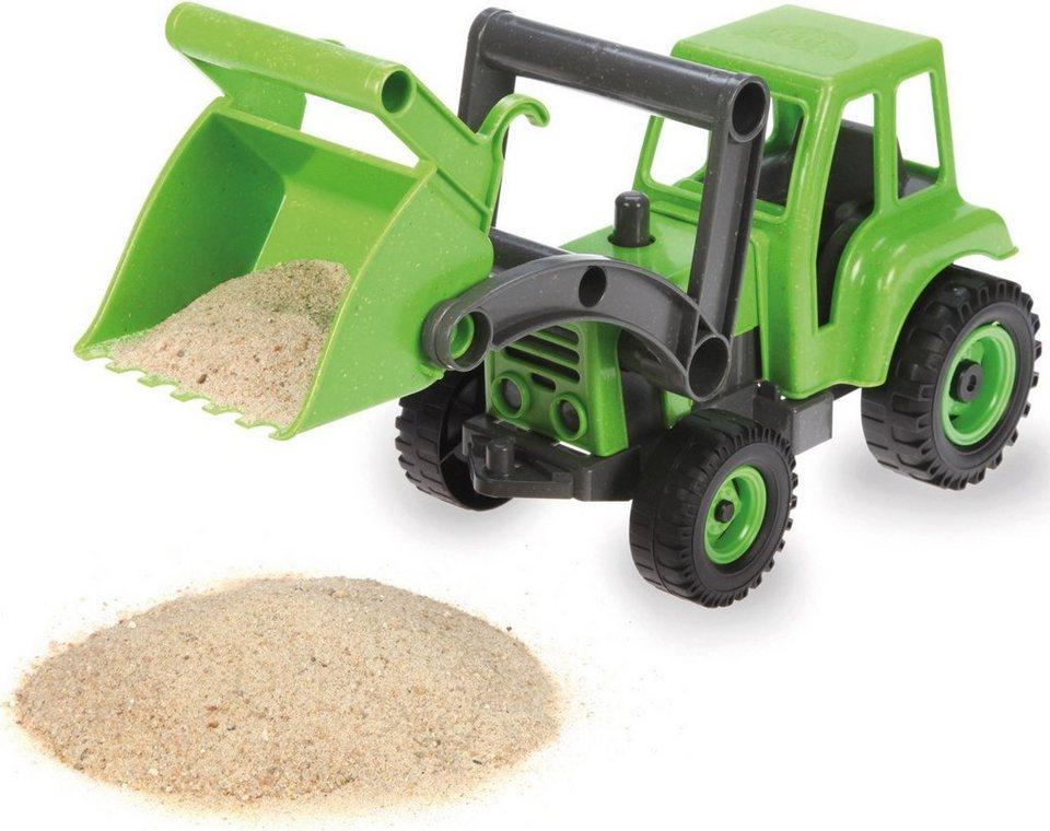 LENA® Sandspielzeug, »EcoActives Traktor« in grün