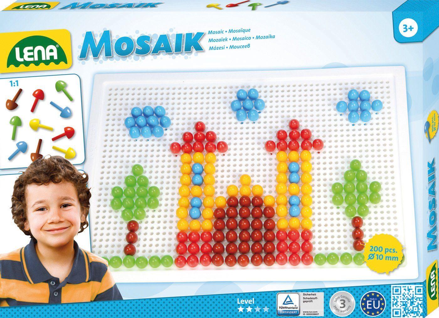 LENA® Steckset, »Mosaik Color 10 mm«