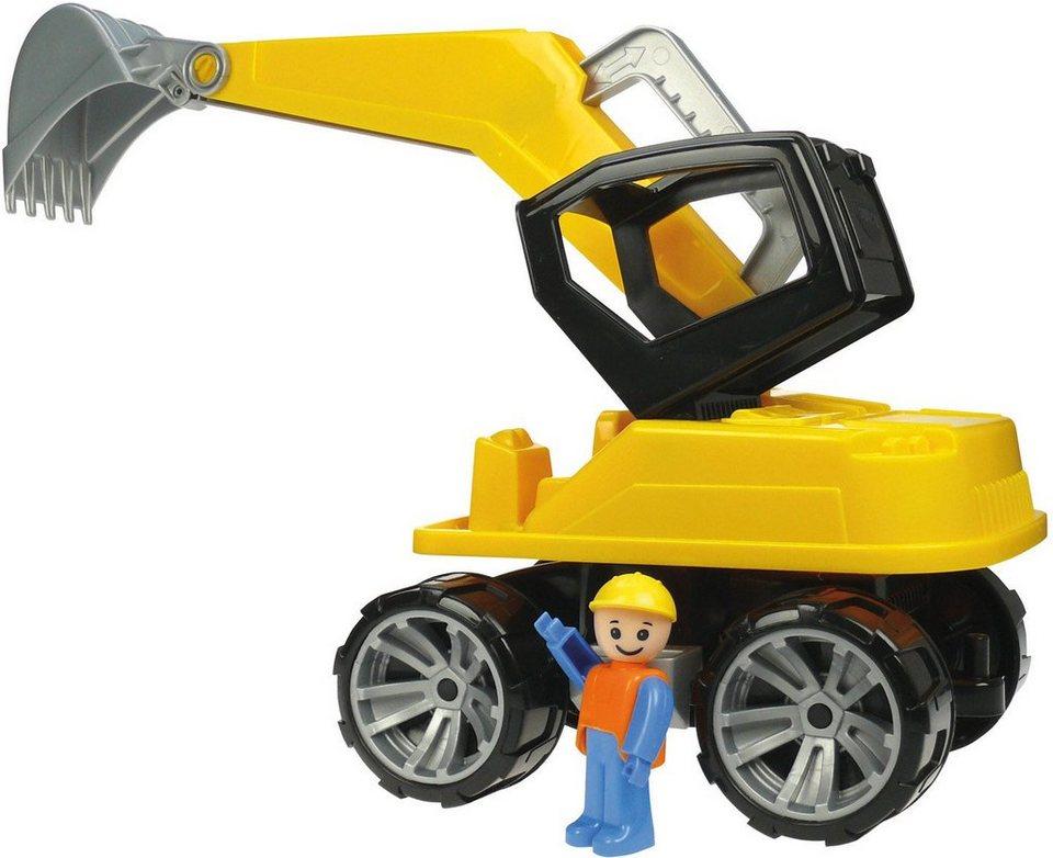 LENA® Sandspielzeug, »Truxx Bagger« in schwarz/gelb