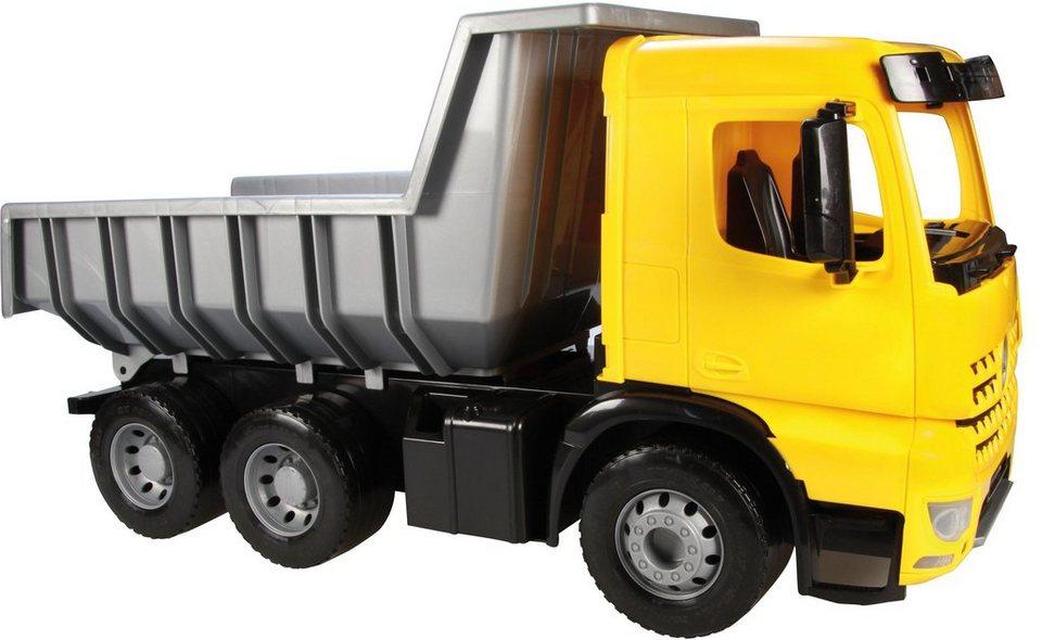 LENA® Spielfahrzeug, »Starke Riesen Muldenkipper Arocs« in grau/gelb