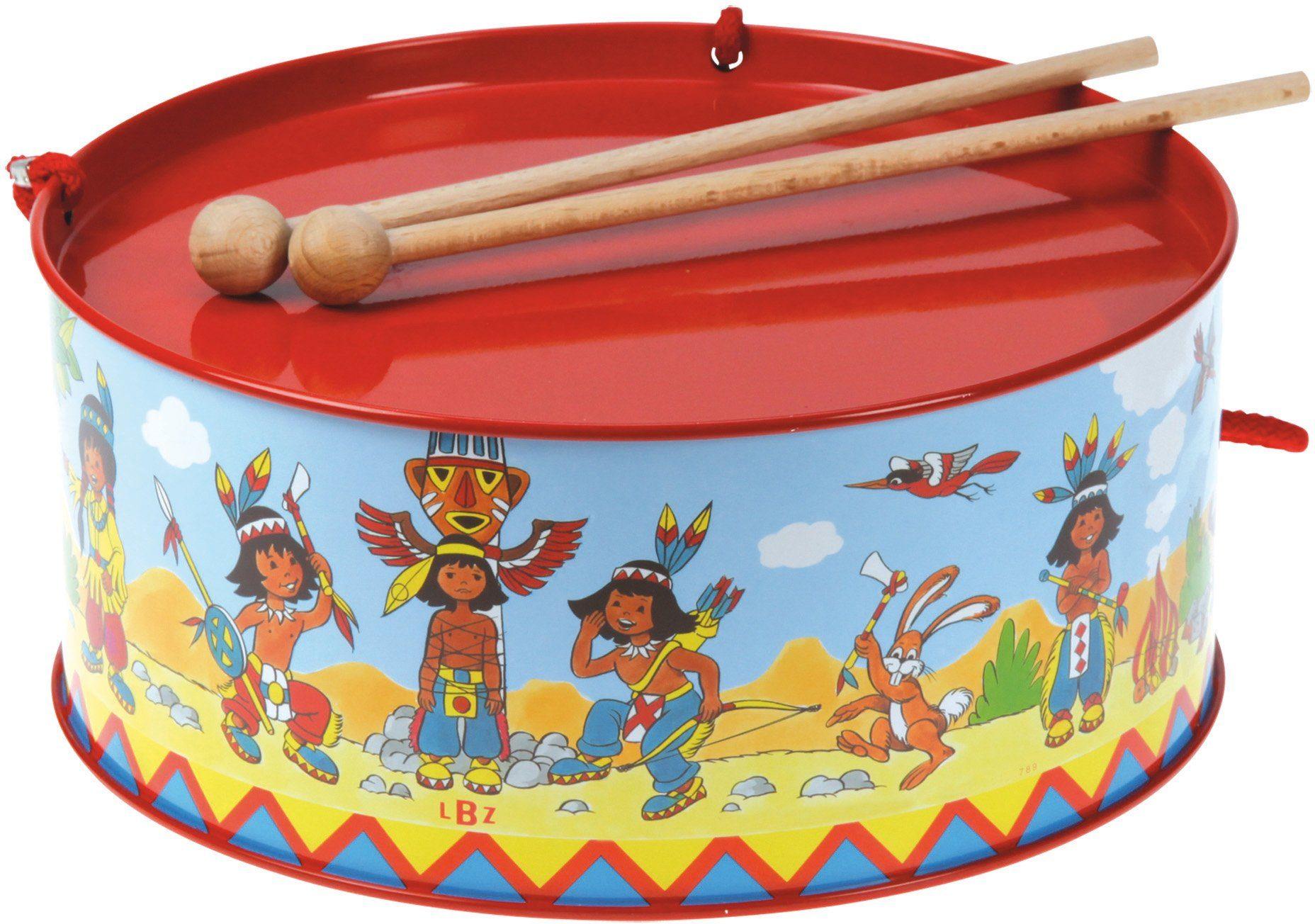 BOLZ Musikinstrument für Kinder, »Trommel Indianer«