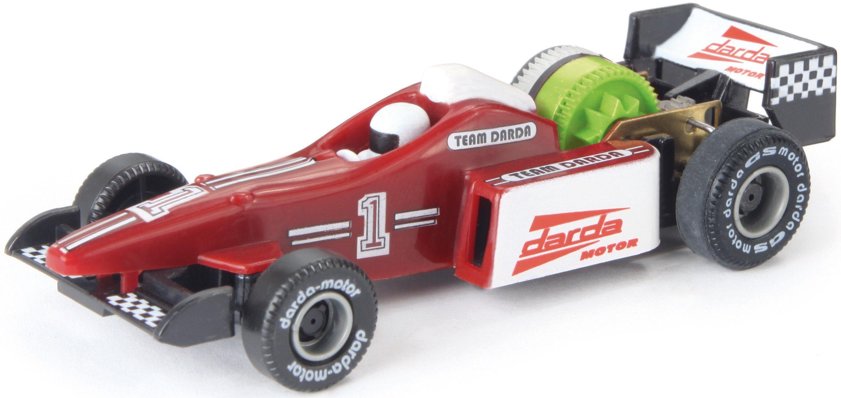 DARDA® Spielfahrzeug, »Formel 1 Rennwagen rot/weiß«