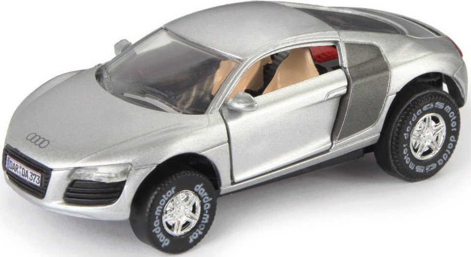 DARDA® Spielfahrzeug, »Audi R8« in silberfarben
