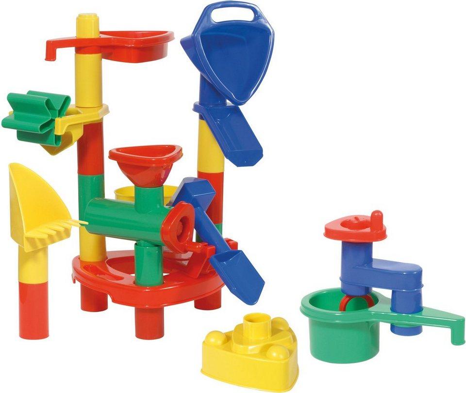 LENA® Sandpielzeug, »Happy Sand 24 Rucksack«