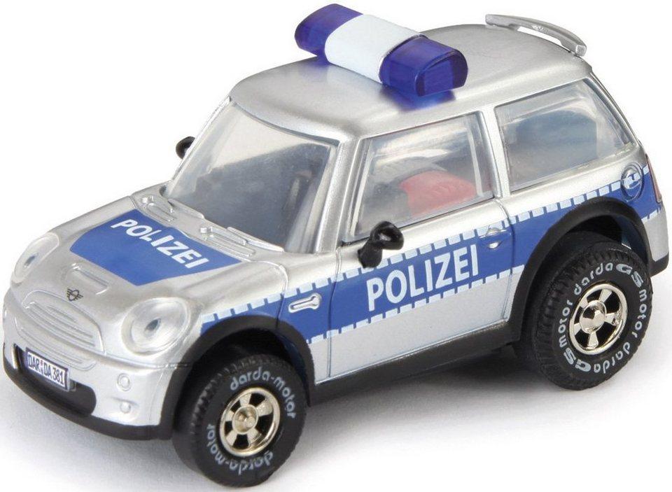 DARDA® Spielfahrzeug, »MINI Polizei« in silberfarben/blau