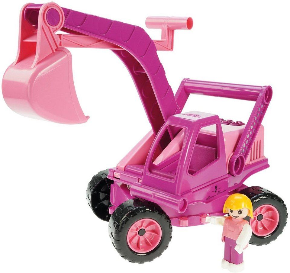 LENA® Spielfahrzeug, »Prinzessin von Hohenzollern Princess Bagger« in pink