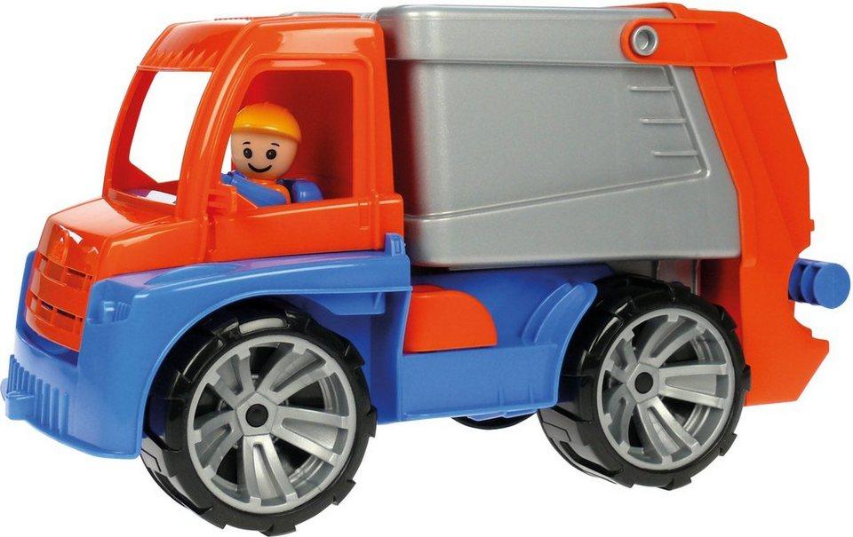 LENA® Sandspielzeug, »Truxx Müllwagen« in orange/blau