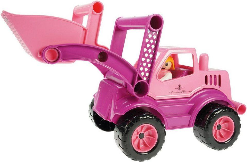 LENA® Spielfahrzeug, »Prinzessin von Hohenzollern Lader« in pink