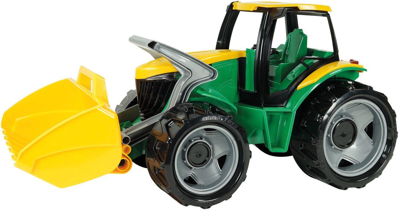 LENA® Spielfahrzeug, »Starke Riesen Traktor mit Frontlader, grün/gelb«