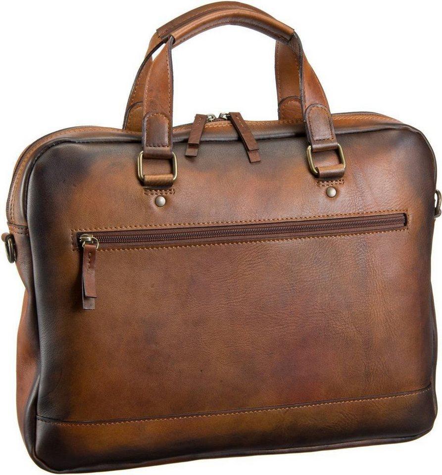 Jost Randers 2481 Kurzgrifftasche in Cognac