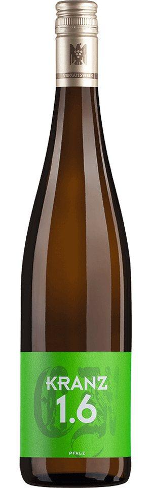 Weisswein aus Deutschland, 13,0 Vol.-%, 75,00 cl »2015 Kranz 1.6 Trocken«