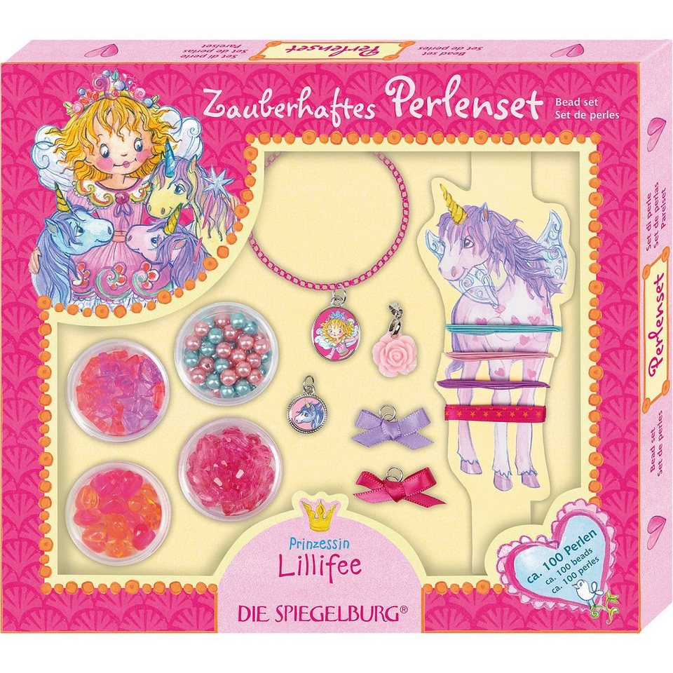 Spiegelburg Perlenset Einhorn Prinzessin Lillifee