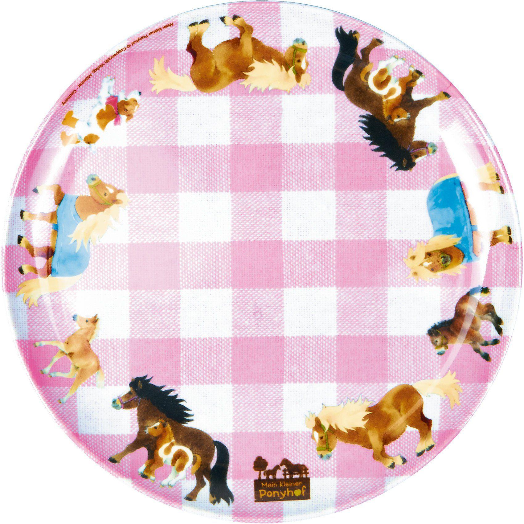 Spiegelburg Melamin-Teller Mein kleiner Ponyhof