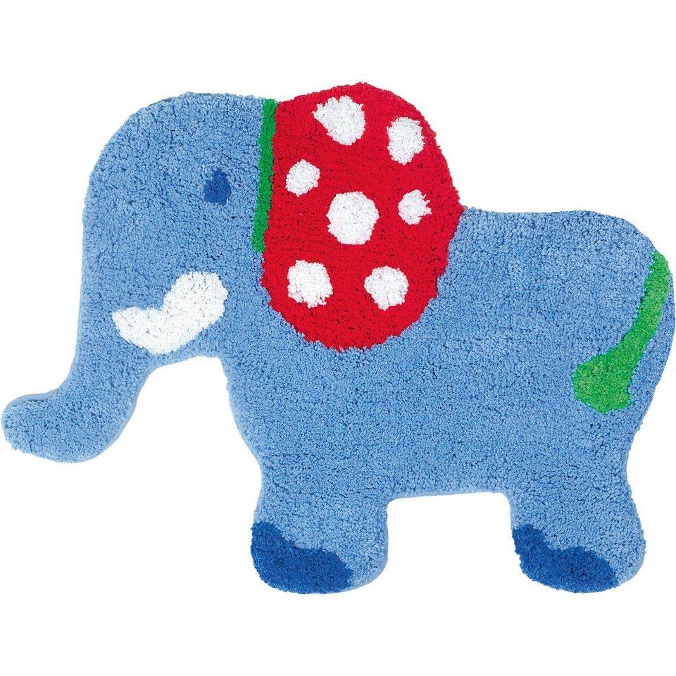Spiegelburg Kleiner Teppich Elefant BabyGlück