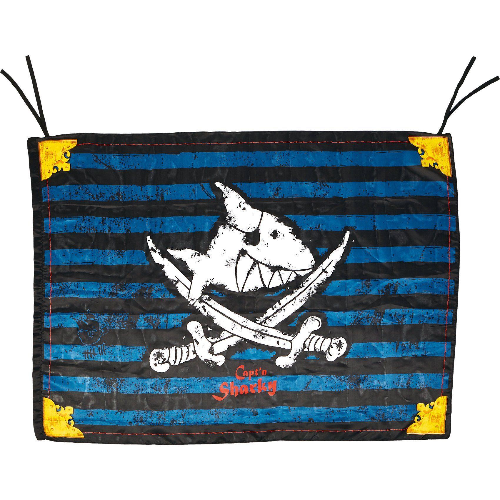 Spiegelburg Piratenflagge Capt'n Sharky (100 x 70 cm)