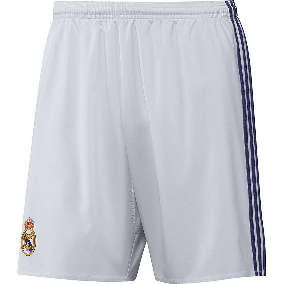 adidas Performance Real Madrid Short »Home 2017« in weiss