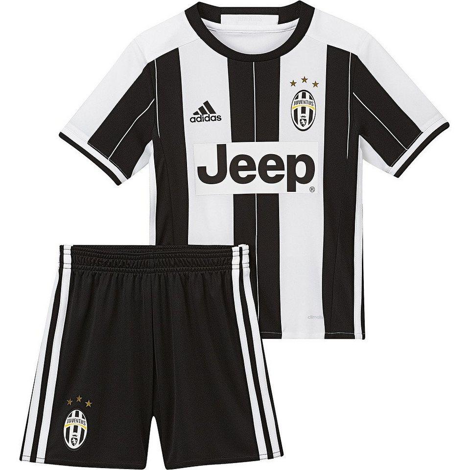 adidas Performance Juventus Turin Minikit »Home 2017« in weiss