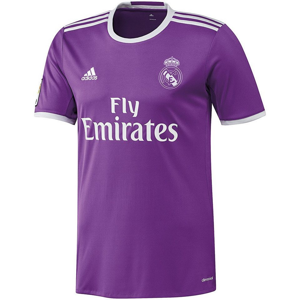 adidas Performance Real Madrid Trikot »Away 2017« in lila