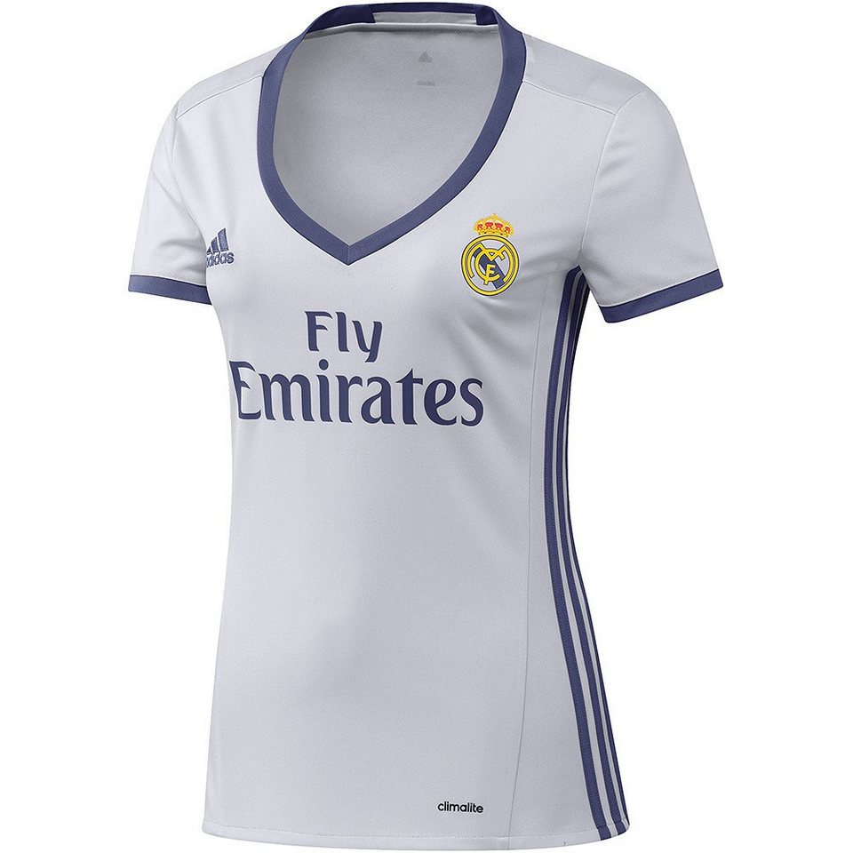 adidas Performance Real Madrid Frauen »Trikot Home 2017« in weiss